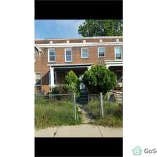 Rental info for New Remodeld row house in the Central Park Heights area