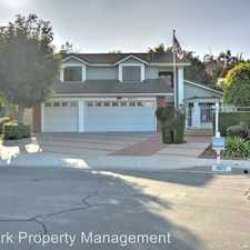 Rental info for 1877 Calle Belleza in the Rowland Heights area
