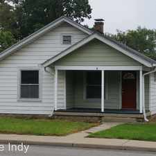 Rental info for 4305 E 16th Street in the Martindale - Brightwood area