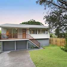 Rental info for Great Home High on Nudgee Hill in the Banyo area