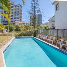 Rental info for LOCATION LOCATION LOCATION - 2 BEDROOM UNIT IN THE HEART OF SURFERS PARADISE in the Surfers Paradise area