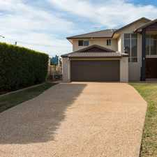 Rental info for TWO STOREY BAYSIDE DELIGHT in the Brisbane area