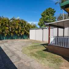Rental info for 4 BAY POWERED SHED + GRANNY FLAT in the Brisbane area