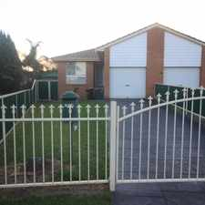 Rental info for Nice family home in the Leumeah area