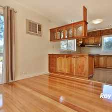 Rental info for FRESHENED FAMILY HOME IN THE GWSC CATCHMENT! (STSA) in the Glen Waverley area