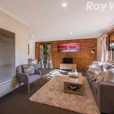 Rental info for A Court Located Family Home On Around 734SQM in the Kilsyth area