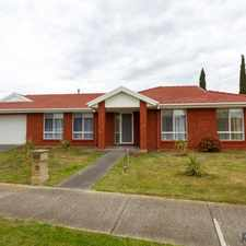 Rental info for Perfect Family Home with Grass Maintenance Included in the Caroline Springs area