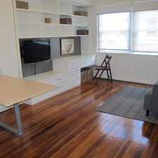 Rental info for RENOVATED FURNISHED STUDIO in the Rushcutters Bay area