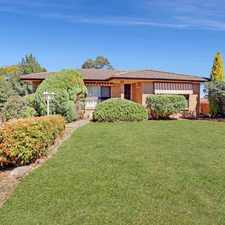 Rental info for FAMILY LIVING in the Goulburn area