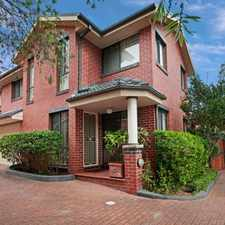 Rental info for Small Complex in Heart of Castle Hill in the Sydney area