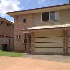 Rental info for QUITE & CONVENIENT TOWNHOUSE in the Petrie area
