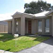 Rental info for Near New Unit in Secure Complex in the Mount Gambier area