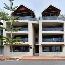 Rental info for STUNNING APARTMENT OVERLOOKING THE BEACH in the Perth area