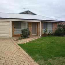 Rental info for COSY FAMILY HOME in the Perth area