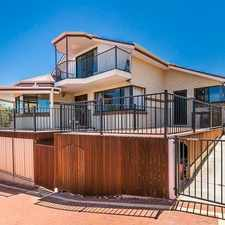 Rental info for Family Home With Sea Views And Granny Flat!! in the Quinns Rocks area