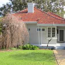 Rental info for LOADS OF CHARACTER! in the Mount Lawley area
