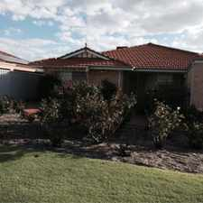 Rental info for LOVELY 3 X 2 FAMILY HOME in the Perth area