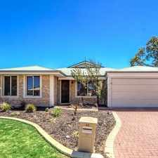 Rental info for Act quick to inspect 32 Gentle Circle.. in the Perth area