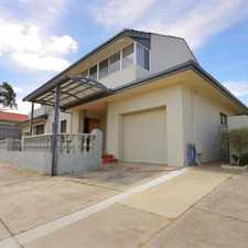 Rental info for Huge 3 x 1 Townhouse - HOME OPEN SAT.16/09 @ 12.30PM - 12.45PM -PLEASE REGISTER TO VIEW