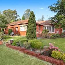 Rental info for Peaceful Family Home! in the South Turramurra area