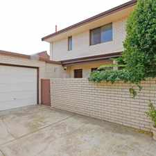 Rental info for IN THE HEART OF SOUTH PERTH