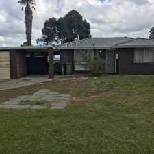 Rental info for This 4 x 1 family home is ideally located!!! in the Perth area
