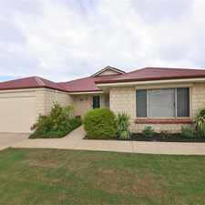Rental info for Fantastic Family Home WITH POOL! in the Quinns Rocks area