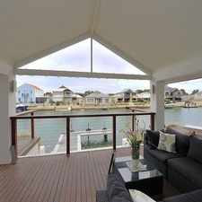 Rental info for Luxury Canal Living in the Dudley Park area