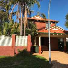 Rental info for ****GREAT LOCATION****AVAILABLE NOW!!***CLOSE TO ALL AMENITIES **5MINS DRIVE TO CITY**** in the North Perth area