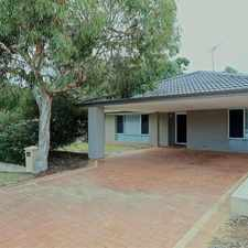 Rental info for Location AND presentation in the Perth area