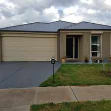 Rental info for Great Family home in Brookfield in the Melton West area