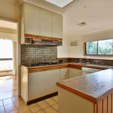 Rental info for WELL MAINTAINED 3 BEDROOM FAMILY HOME WITHIN THE GWSC CATCHMENT (STSA)! in the Mount Waverley area