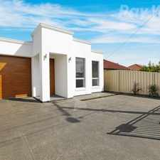 Rental info for Brand New Three Bedroom House!