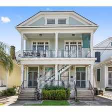 Rental info for 224 South Scott Street #2 in the New Orleans area