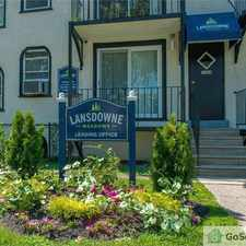 Rental info for Newly Renovated Lansdowne Meadows in the Philadelphia area