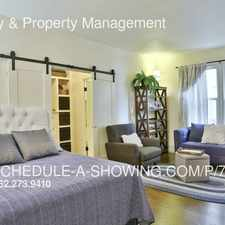 Rental info for 325 Elm Ave #106 in the Downtown area