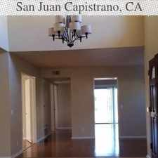 Rental info for Two Story Spanish Style Home With Private Court... in the San Juan Capistrano area