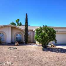 Rental info for 3329 W Los Reales Rd