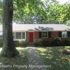 Rental info for 1413 Robindale Road