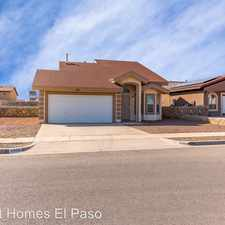 Rental info for 1012 Chris Forbes in the Socorro area