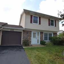Rental info for 445 Degas Circle in the 60440 area