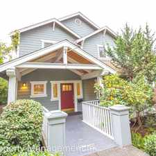 Rental info for 4017 NE 45th St in the Seattle area