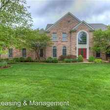 Rental info for 16363 Champion Dr in the 63017 area