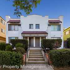 Rental info for 1548 1/2 Pine Avenue in the Los Angeles area