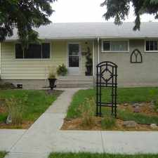 Rental info for 16419 105 Avenue Northwest #Main Floor in the Britannia Youngstown area