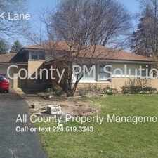Rental info for 408 BROOK Lane in the 60091 area