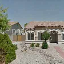 Rental info for Great Gilbert Home!!