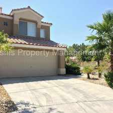 Rental info for Two Story Home in Summerlin in the Sun City Summerlin area