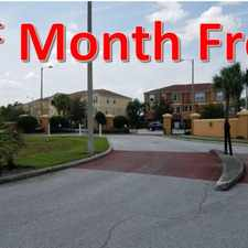 Rental info for 1st Month Free!!! New 3 bed 2.5 bath town homes on Palm River with views of downtown Tampa. Gated Community in the Tampa area