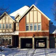 Rental info for 1015 Lockwood Circle in the Newmarket area